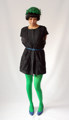 Vintage flapper hat  belt and crocheted tunic from eBay  All the bright colored tights in the world from  A HREF  http   maps google com maps oe utf 8 rls org mozilla en US official client firefox a um 1 ie UTF 8 q sockman  new york  NY fb 1 split 1 gl us cid 0 0 3494104476053105021 ei H3ogSvqRJYy9tweRjrCrBg sa X oi local_result ct image resnum 1  Sockman  A