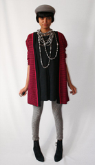 Slouch cardigan from eBay seller  a href  http   stores shop ebay com mama stone vintage__W0QQ_armrsZ1  target  _blank  Mama Stone Vintage  a  and cuffley cap donated by Chaely Chartier  Marble print tights from  a href  http   www sockdreams com _shop edit index php  target  _blank  Sockdreams    a  ankle boots from eBay and south african cwabasi beads donated by Debi and Jani Finch   br                                                                                           br    re purpose  Day 8 br   Become part of a resourceful community of sustainable shoppers and sellers  and win a  5000 chance to revamp your own vintage look with eBay  For every new member  the eBay Green Team will donate a dollar to our fundraiser   br  br   b P S  b  br  To our friends abroad  International sign up is now working   br  a href  http   www ebaygreenteam2 com   target  _blank   b  Join Today    b   a