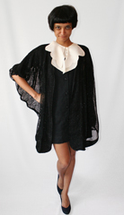 Vintage dickey collar  batwing tunic and pumps from eBay  Congratulations  Justice Sotomayor  Happy 100th day  Uniform Project
